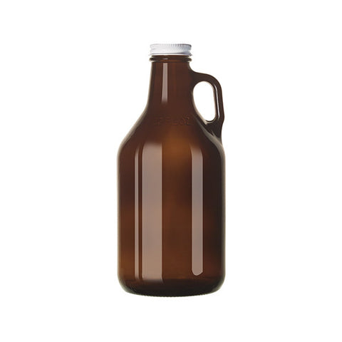 Amber Growler with Lid (946 mL)