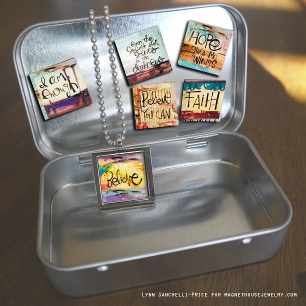 GIFT SET SQUARE Believe by Lynn Sanchelli-Price