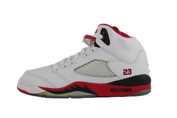 "Air Jordan 5 (GS) ""Fire Red"""