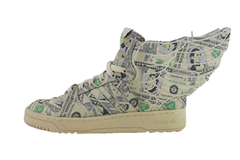 "Adidas Jeremy Scott Wing 2.0 ""Money"""