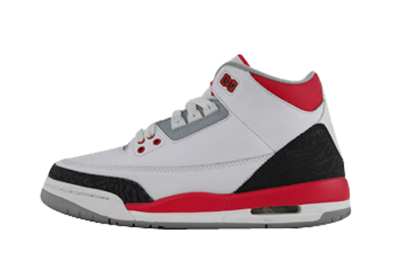 "Air Jordan 3 (GS) ""Fire Red"""