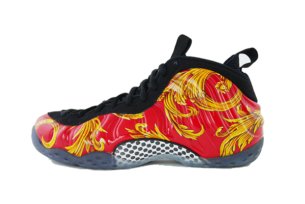 "Nike Air Fomaposite One ""Red Supreme"""