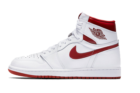 "Air Jordan 1 HI OG ""Metallic Red"""