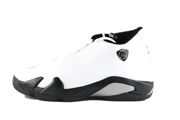 "Air Jordan 14 ""White Leather"" Seamless SAMPLE"