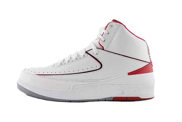 "Air Jordan 2 ""White/Red"""