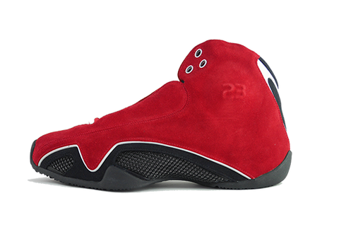 "Air Jordan 21 ""Red Suede"""