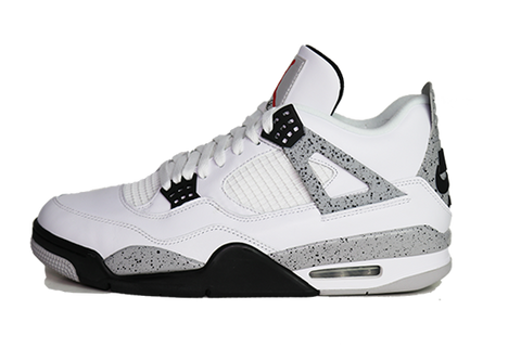 "Air Jordan 4 ""White Cement"""