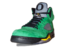 "Air Jordan 5 PE ""Oregon Football"""