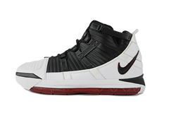 "Nike LeBron 3 ""White/Black"""