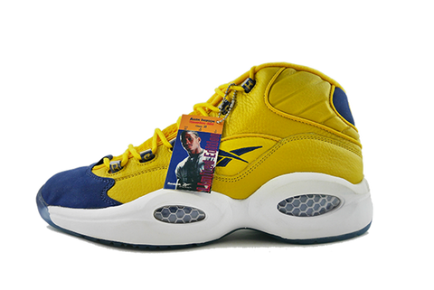 "Reebok The Question Mid ""Yellow/Navy"""