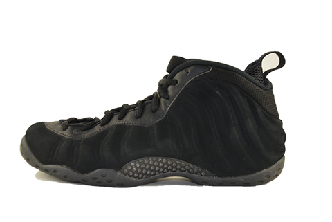 nike air foamposite one prm triple black
