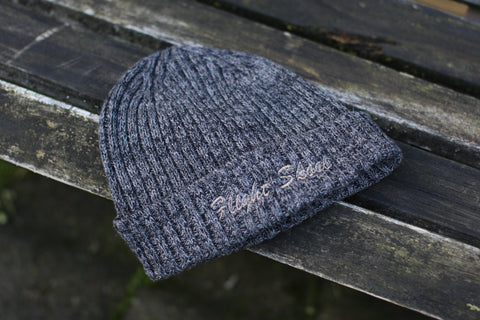 Charcoal Knit FlightSkool Beanie