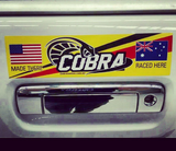 Cobra Bumper Sticker