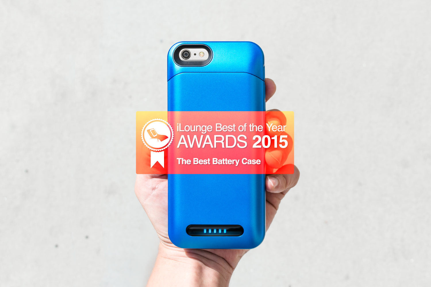The PhoneSuit Battery Case Won Best of Year Award