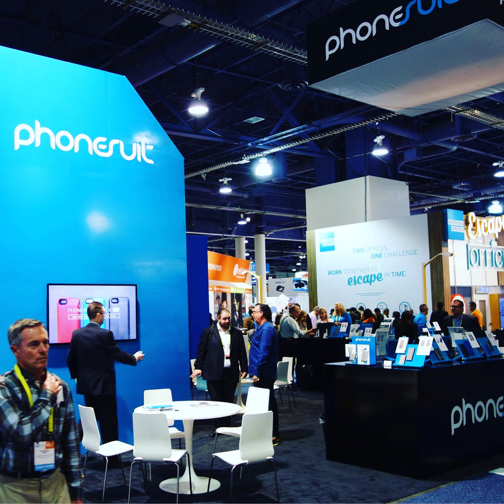 PhoneSuit at CES 2017