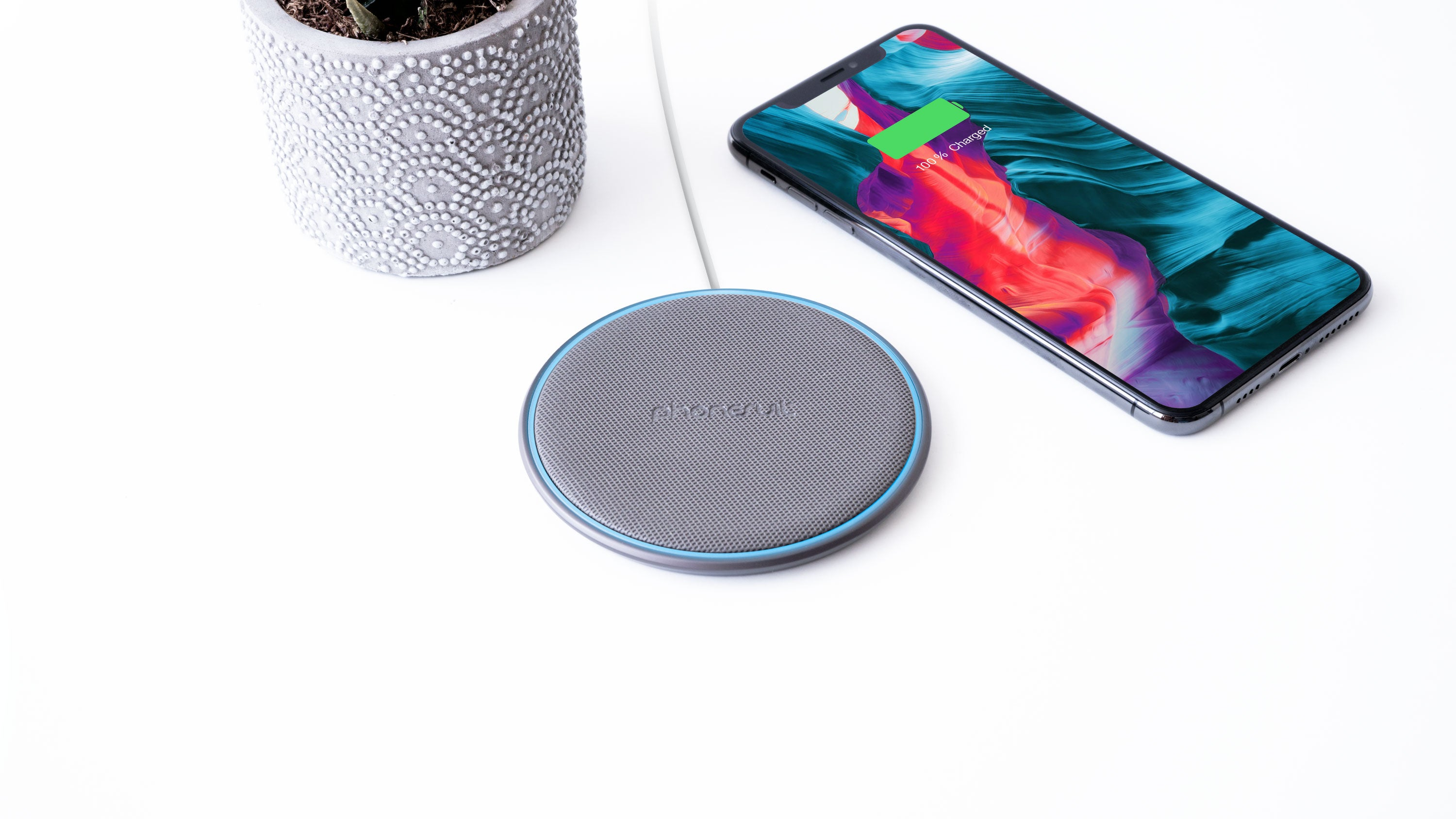 Energy Core Wireless Charge Pad PRO for iPhone, Samsung, & More