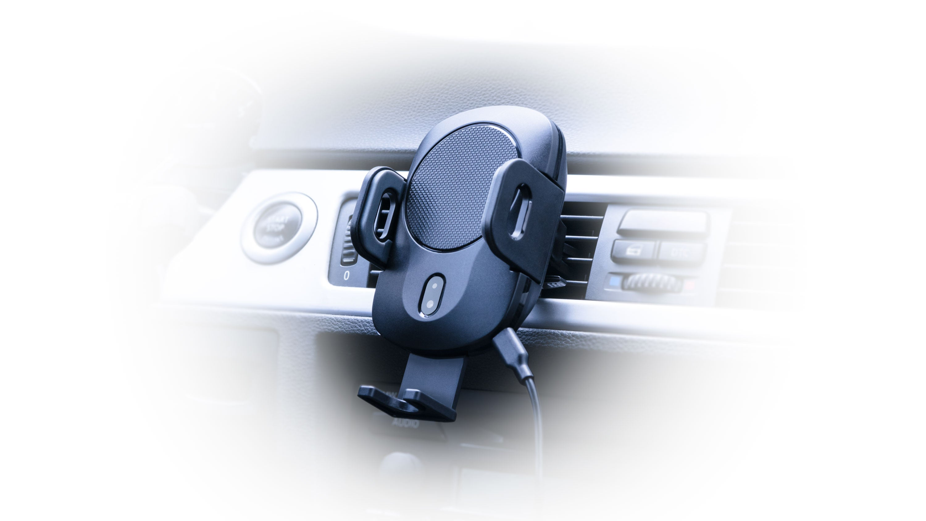 Energy Core Go Wireless Car Charger & Automatic Dock for iPhone, Samsung & More
