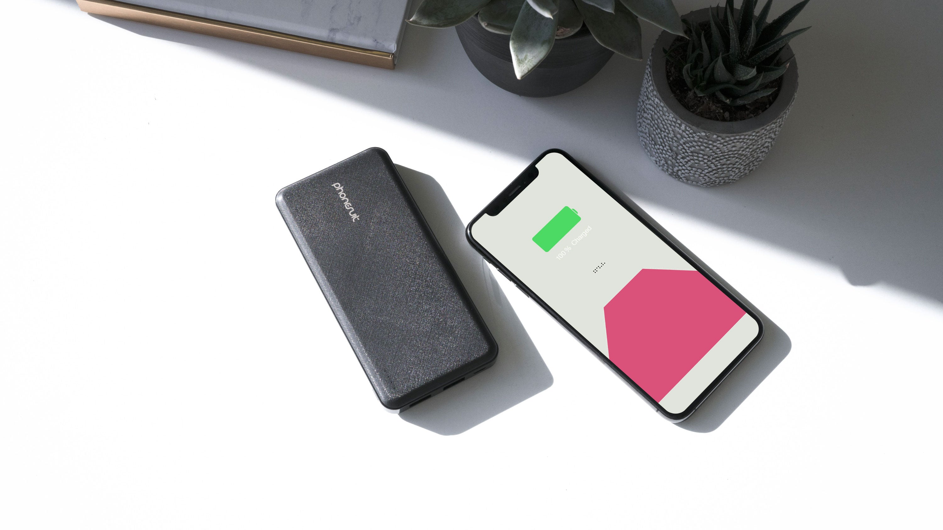 Energy Core LT Battery Pack for iPhone, Samsung & More
