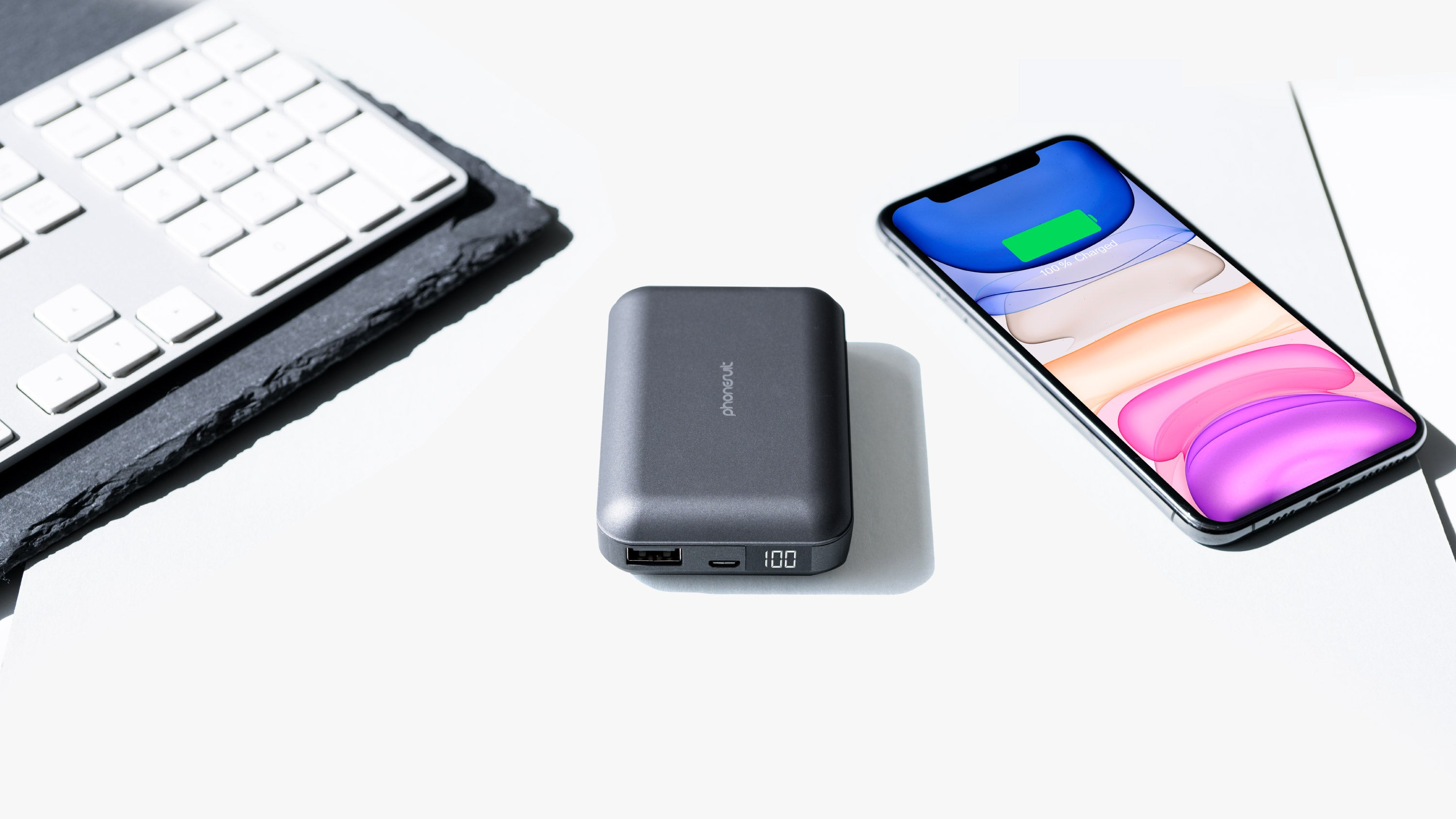 Energy Core LCD Battery Pack 10,000 mAh for iPhone, Samsung & More
