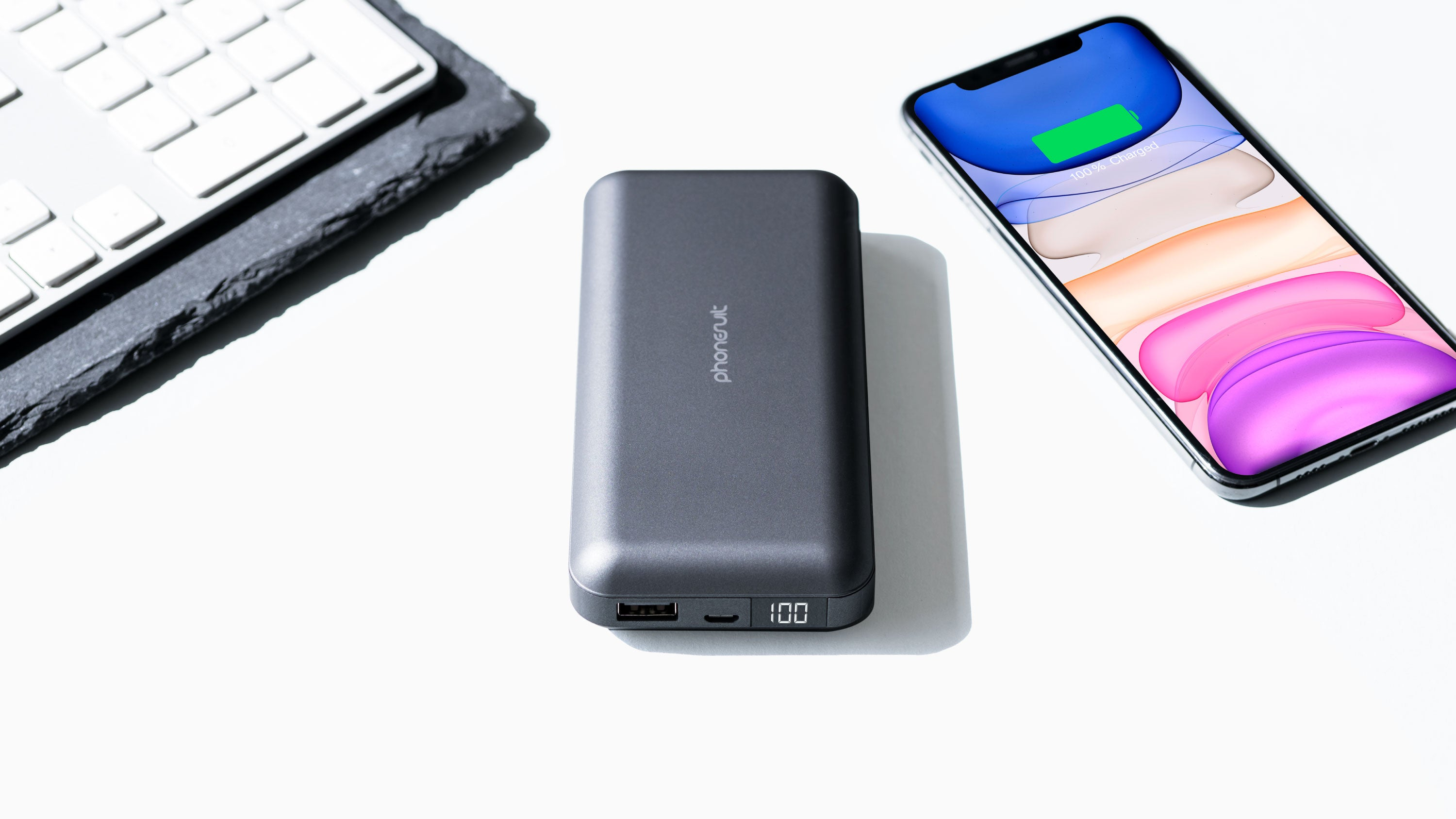 Energy Core LCD Max Battery Pack | 20,000mAh | for iPhone, Samsung & More