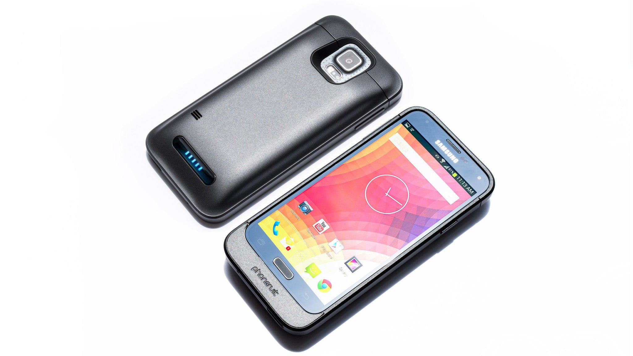 brand new 3d9dc c3421 PhoneSuit Elite GS5 Battery Case for Samsung Galaxy S5