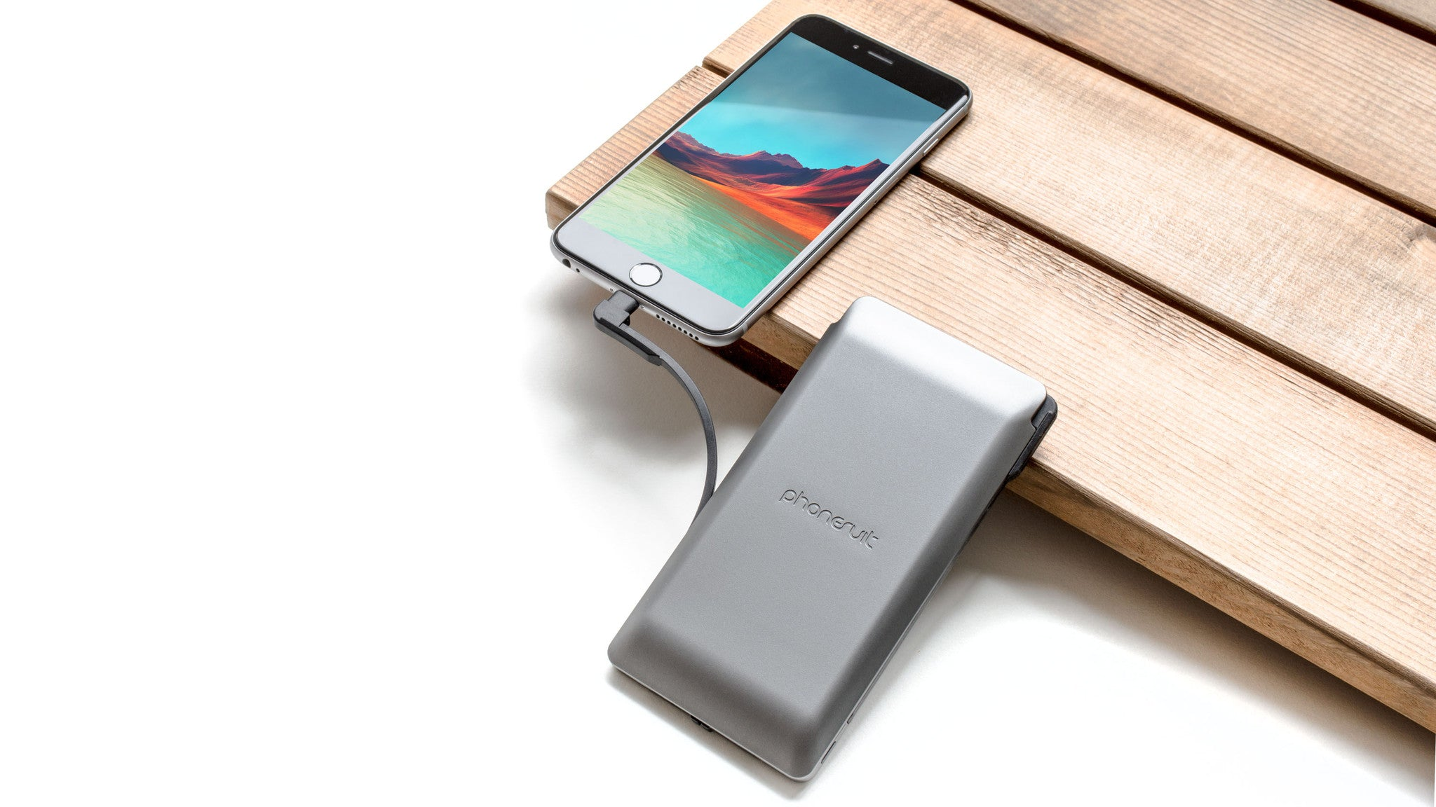 Journey Travel Charger Max |  Portable-Power Bank, Lightning & USB Cable | for iPhone & Smartphones