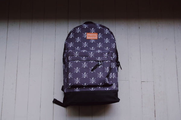 Canvas Black Backpack