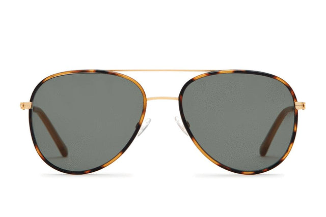 North | Brushed Gold & Tortoise Sun