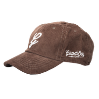 Corduroy Dad Hat-Mocha