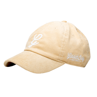 Corduroy Dad Hat-Beige