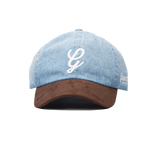 Denim & Suede Dad Hat-Light