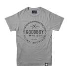 Crew Neck T-Shirt - Grey