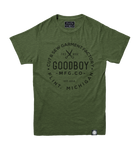 Crew Neck T-Shirt - Green