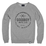 Crew Neck - Sweatshirt - Grey/Charcoal