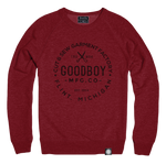 Crew Neck - Sweatshirt - Red