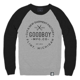 Crew Neck - Sweatshirt - Grey and Black