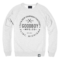 Crew Neck - Sweatshirt - Ash