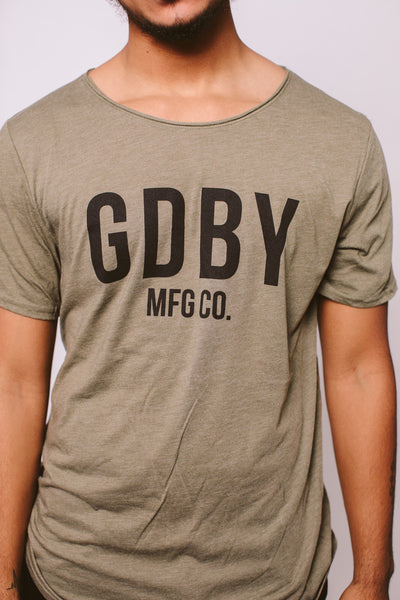 GDBY Short Sleeve - Olive Green