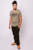 GDBY Tee - Olive Green