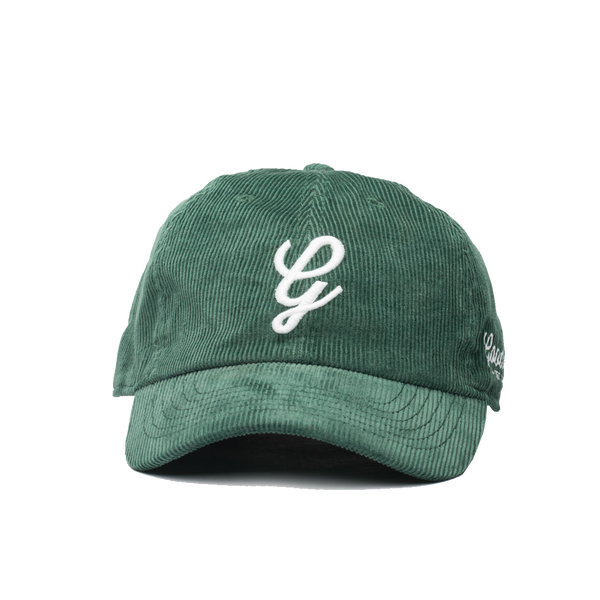Corduroy Dad Hat-Emerald