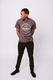 Crew Neck T-Shirt - Brown