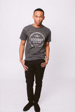 Crew Neck T-Shirt - Charcoal