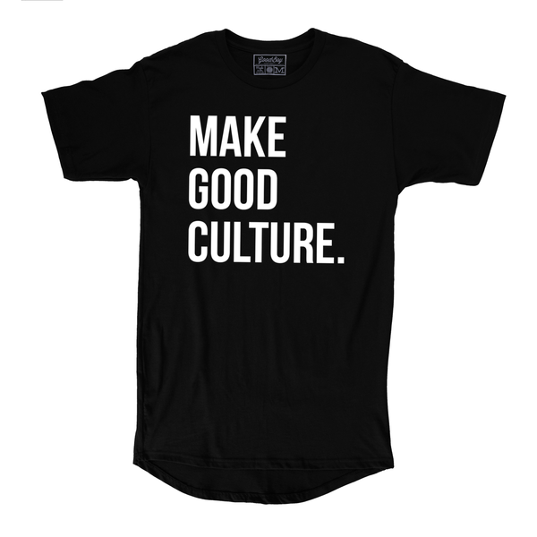 Make Good Culture Tee - Black
