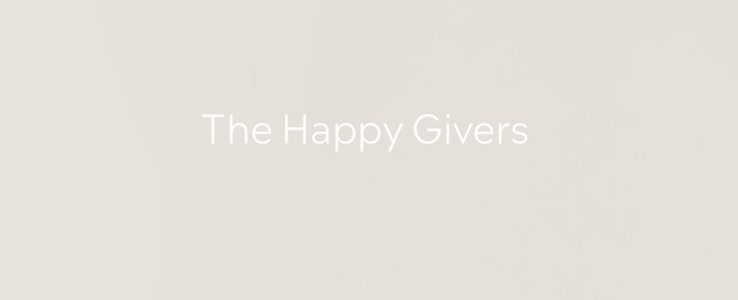 The Happy Givers logo