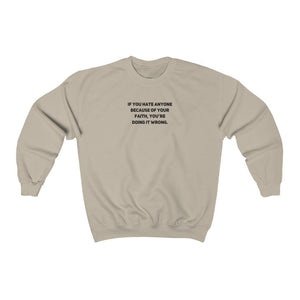 Doing It Wrong | Unisex Sweatshirt