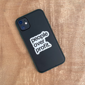 People Over Profit | Sticker