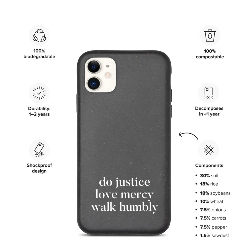 Micah Six Eight | Biodegradable iPhone Case