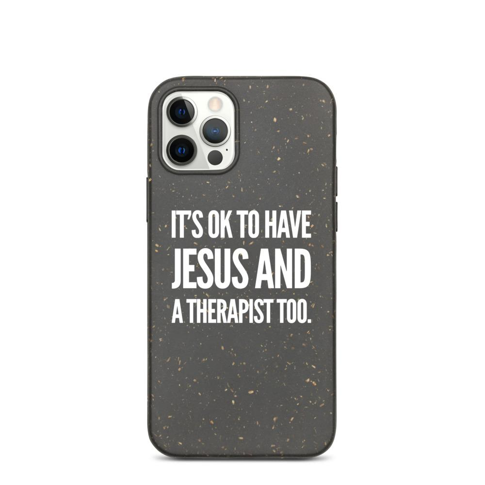 """It's OK"" Biodegradable Phone Case For iPhone"