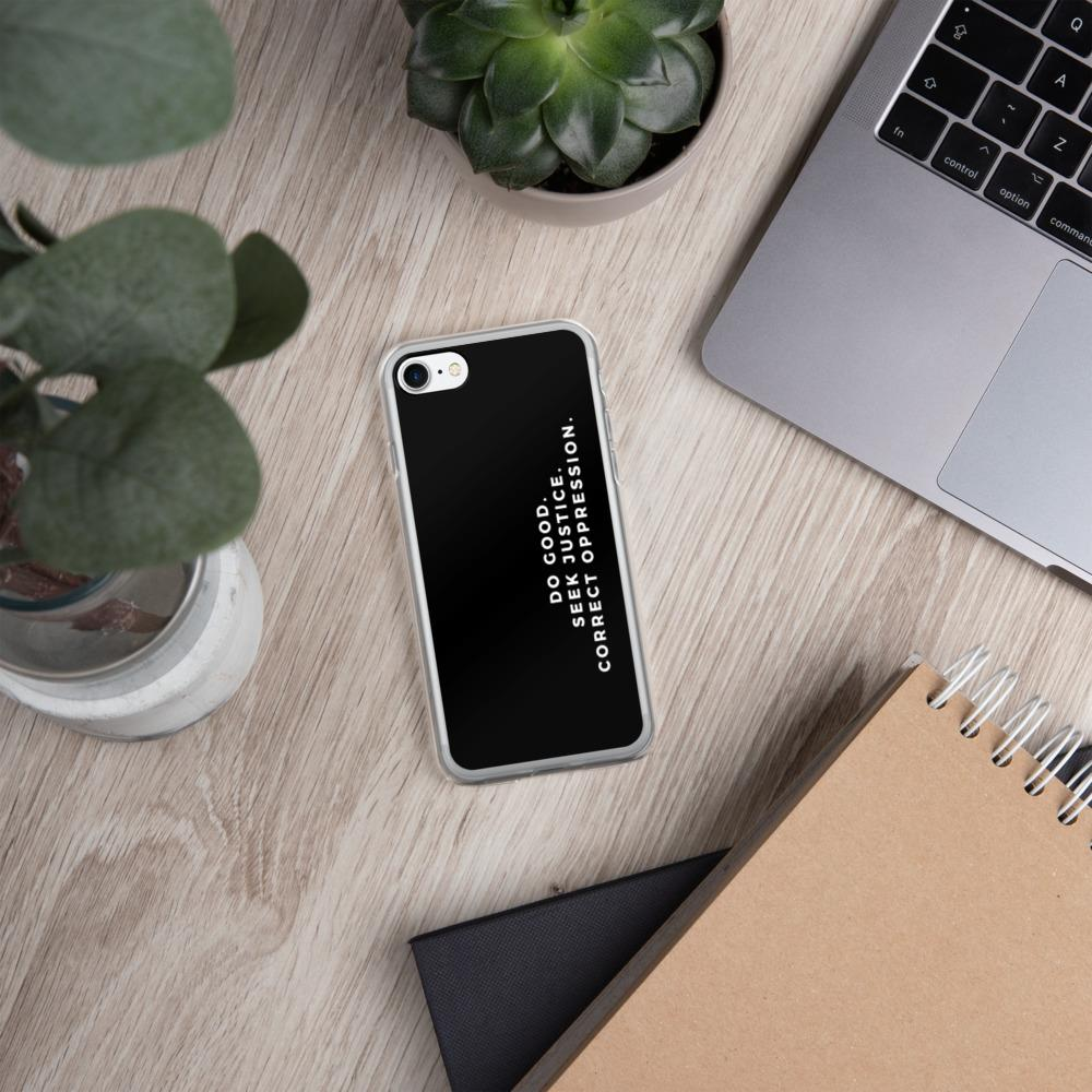 Isaiah 1:17 | iPhone Case