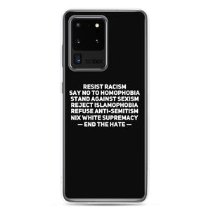 """End the Hate"" Phone Case For Samsung"